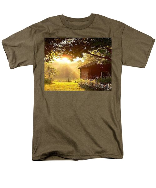Let There Be Light Men's T-Shirt  (Regular Fit) by Rod Jellison