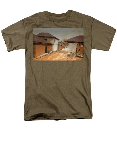 Let There Be Peace In Our Land Men's T-Shirt  (Regular Fit) by Bankole Abe