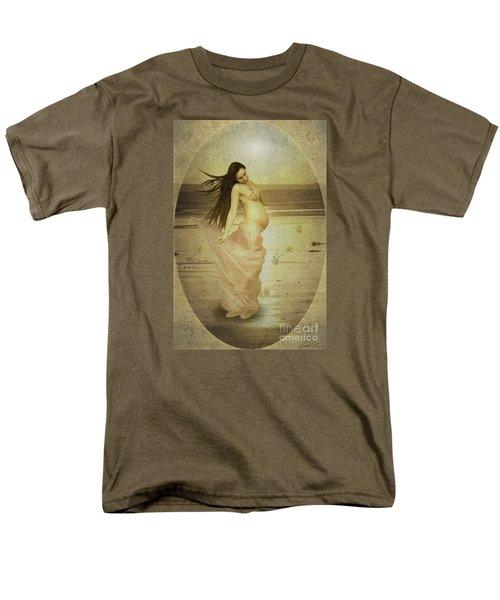 Let Your Soul And Spirit Fly Men's T-Shirt  (Regular Fit) by Linda Lees