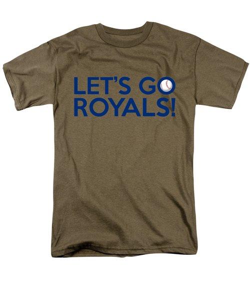 Let's Go Royals Men's T-Shirt  (Regular Fit) by Florian Rodarte