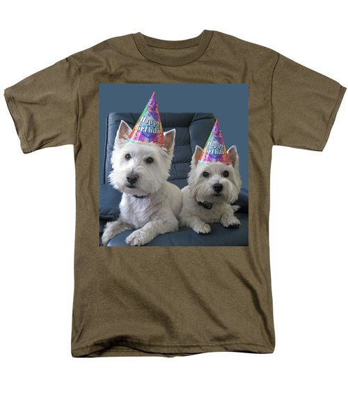 Men's T-Shirt  (Regular Fit) featuring the photograph Let's Party by Geraldine Alexander