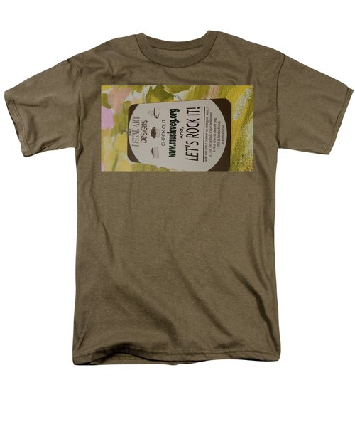 Let's Rock It Men's T-Shirt  (Regular Fit) by Silvana Vienne