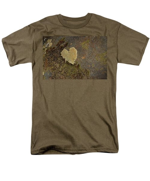 Men's T-Shirt  (Regular Fit) featuring the photograph Lichen Love by Mike Eingle