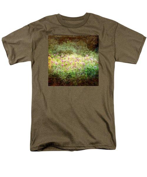 Light In The Forest Men's T-Shirt  (Regular Fit) by Robin Regan