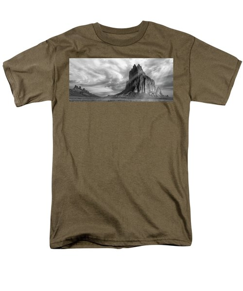 Light On Shiprock Men's T-Shirt  (Regular Fit) by Jon Glaser