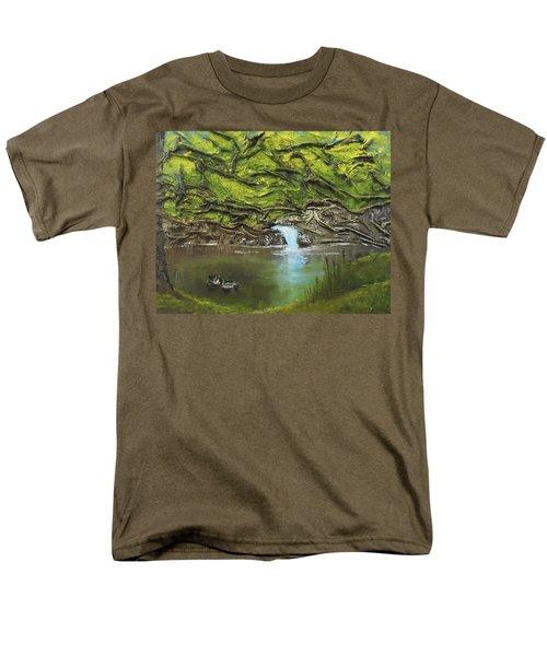 Like Ducks On Water Men's T-Shirt  (Regular Fit)