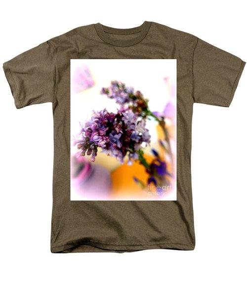 Lilac Beauty Men's T-Shirt  (Regular Fit) by Marlene Rose Besso