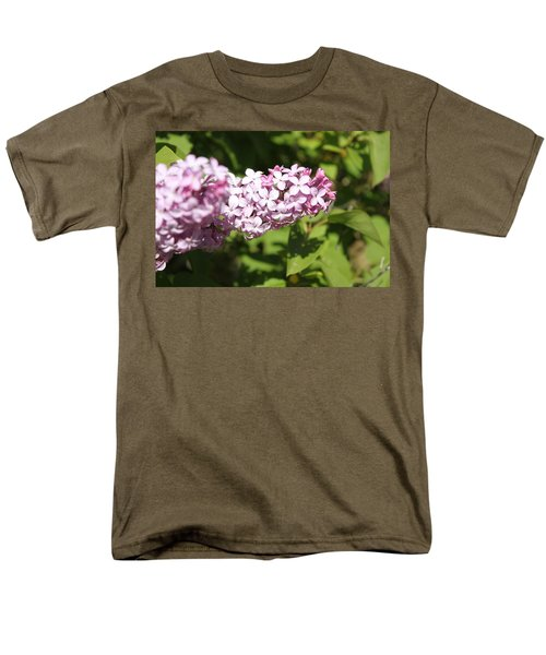 Men's T-Shirt  (Regular Fit) featuring the photograph Lilacs 5550 by Antonio Romero