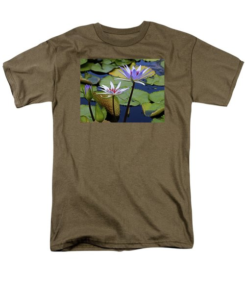 Men's T-Shirt  (Regular Fit) featuring the photograph Lily Trio by Judy Vincent