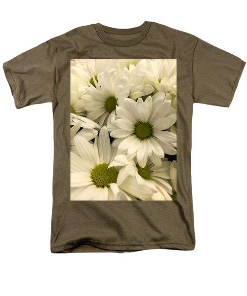 Lime Center Men's T-Shirt  (Regular Fit) by Arlene Carmel