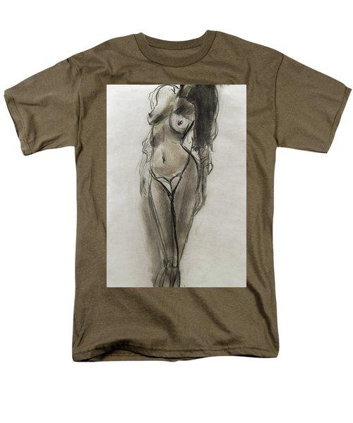 Lingerie Elegance Men's T-Shirt  (Regular Fit)