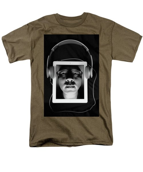 Listen To Inner Voice Men's T-Shirt  (Regular Fit) by Hyuntae Kim