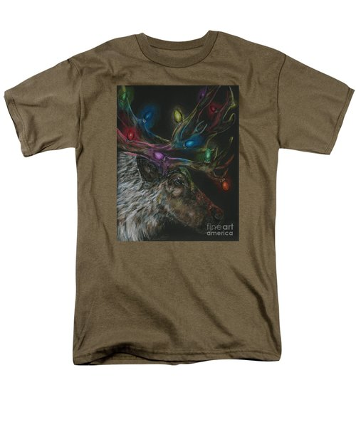 Men's T-Shirt  (Regular Fit) featuring the drawing Lit Up by Meagan  Visser