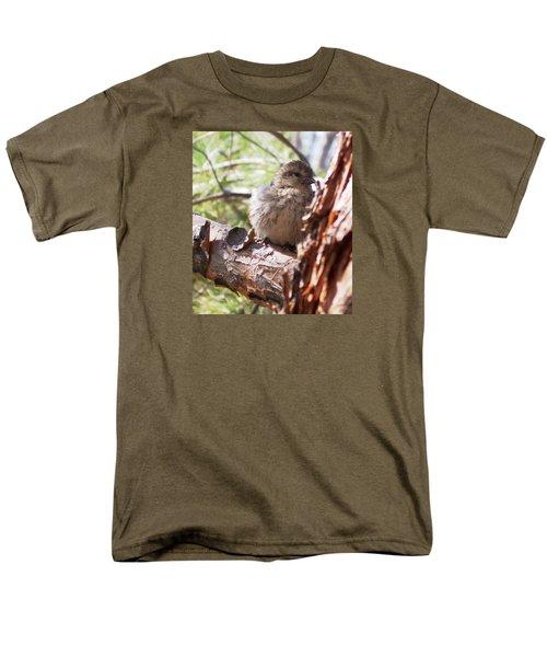 Little Shy Men's T-Shirt  (Regular Fit) by Marika Evanson