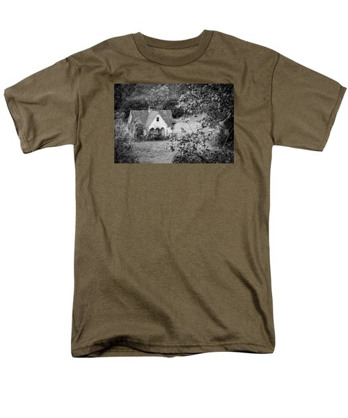 Men's T-Shirt  (Regular Fit) featuring the photograph Little Victorian Styled Farm House In The Mountains by Kelly Hazel