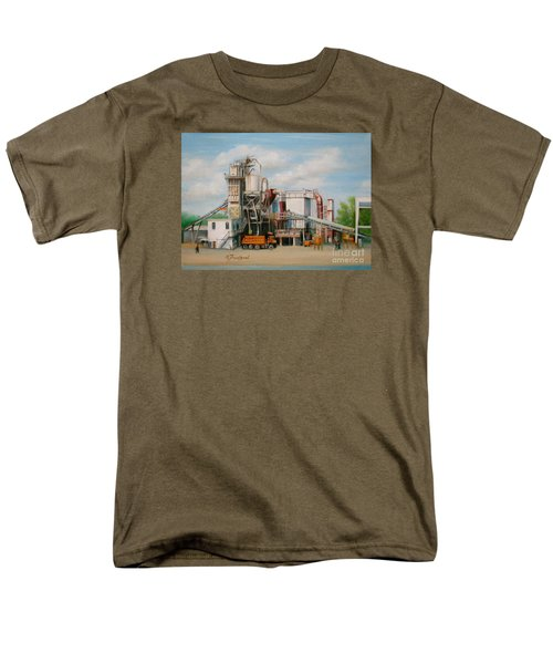 Load  The Big Orange Truck Men's T-Shirt  (Regular Fit) by Oz Freedgood