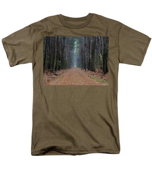 Men's T-Shirt  (Regular Fit) featuring the photograph Loblolly Lane by Robert Geary