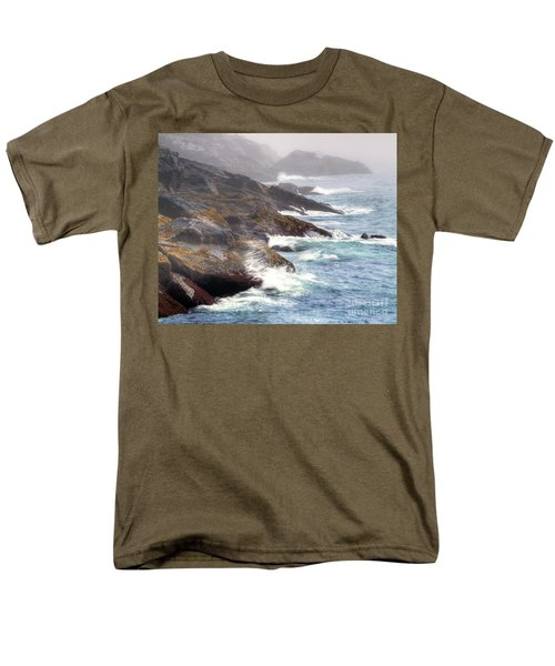 Men's T-Shirt  (Regular Fit) featuring the photograph Lobster Cove by Tom Cameron