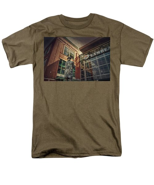 Men's T-Shirt  (Regular Fit) featuring the photograph Lombardi Time by Joel Witmeyer