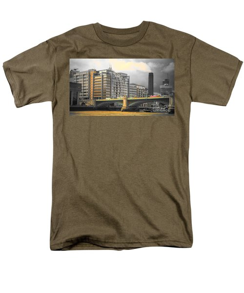 London Men's T-Shirt  (Regular Fit) by Therese Alcorn