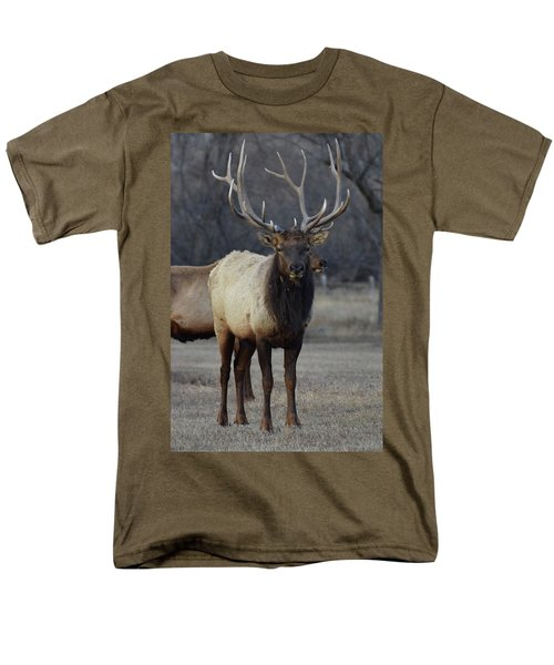 Men's T-Shirt  (Regular Fit) featuring the photograph Lone Bull by Billie Colson