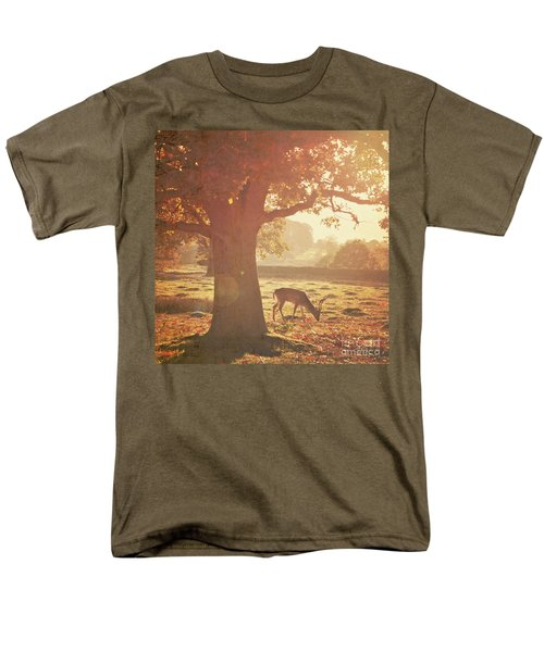 Men's T-Shirt  (Regular Fit) featuring the photograph Lone Deer by Lyn Randle