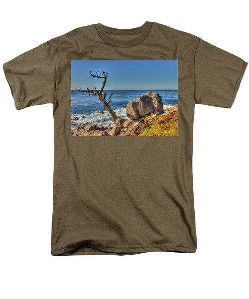 Lone Tree California Coast Men's T-Shirt  (Regular Fit) by James Hammond