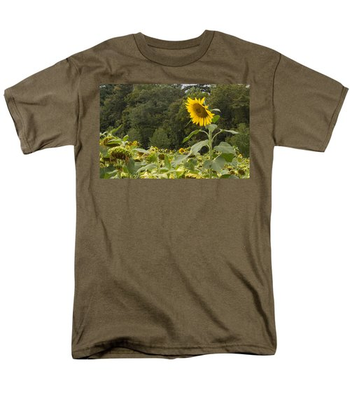 Men's T-Shirt  (Regular Fit) featuring the photograph Lone Wolf by Arlene Carmel