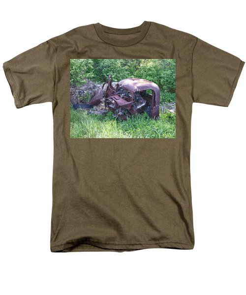 Men's T-Shirt  (Regular Fit) featuring the photograph Long Forgotten 2808 by Guy Whiteley