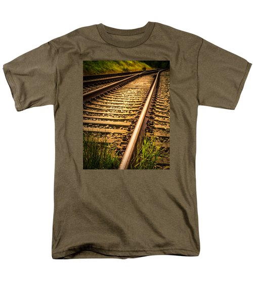 Men's T-Shirt  (Regular Fit) featuring the photograph Long Gone by Odd Jeppesen