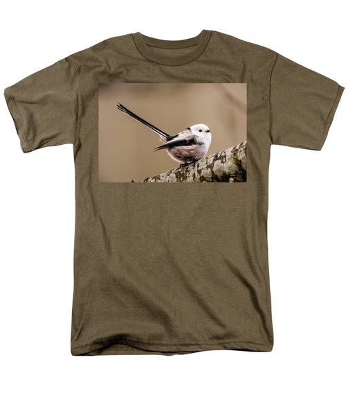 Long-tailed Tit Wag The Tail Men's T-Shirt  (Regular Fit) by Torbjorn Swenelius
