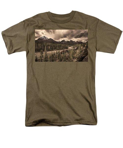 Long Train Running Men's T-Shirt  (Regular Fit) by John Poon