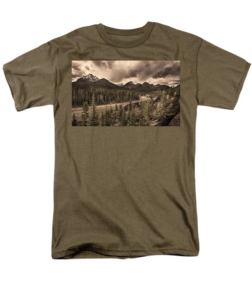 Long Train Running Men's T-Shirt  (Regular Fit)