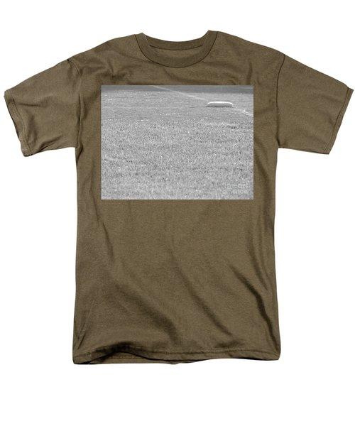 Looking In To Third Base Men's T-Shirt  (Regular Fit) by Erick Schmidt