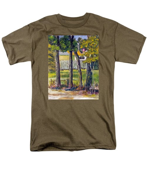 Looking Into Brenn Marr Men's T-Shirt  (Regular Fit) by Jim Phillips