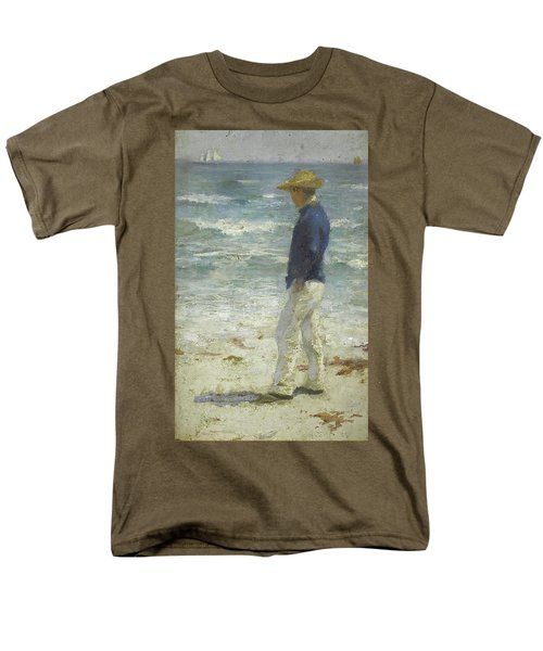Men's T-Shirt  (Regular Fit) featuring the painting Looking Out To Sea by Henry Scott Tuke