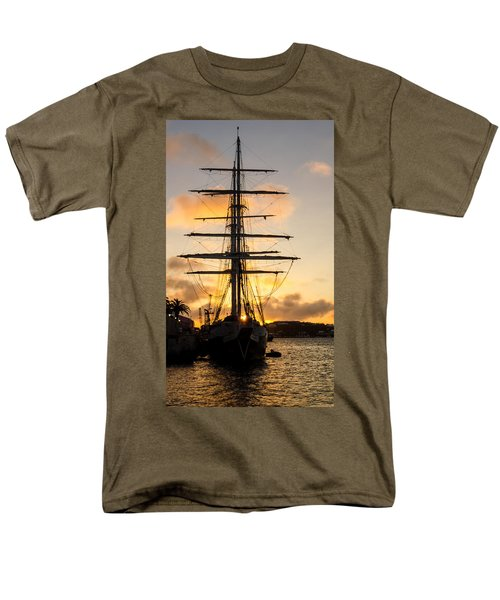 Lord Nelson Sunrise Men's T-Shirt  (Regular Fit) by Jeff at JSJ Photography
