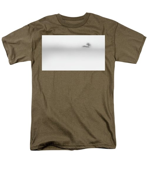 Men's T-Shirt  (Regular Fit) featuring the photograph Lost Island by Bill Wakeley
