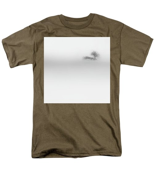 Men's T-Shirt  (Regular Fit) featuring the photograph Lost Island Square by Bill Wakeley