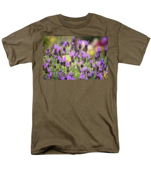 Men's T-Shirt  (Regular Fit) featuring the photograph Lots Of Lavender  by Saija Lehtonen