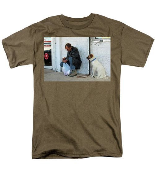 Men's T-Shirt  (Regular Fit) featuring the photograph Lottery Ticket by Joe Jake Pratt