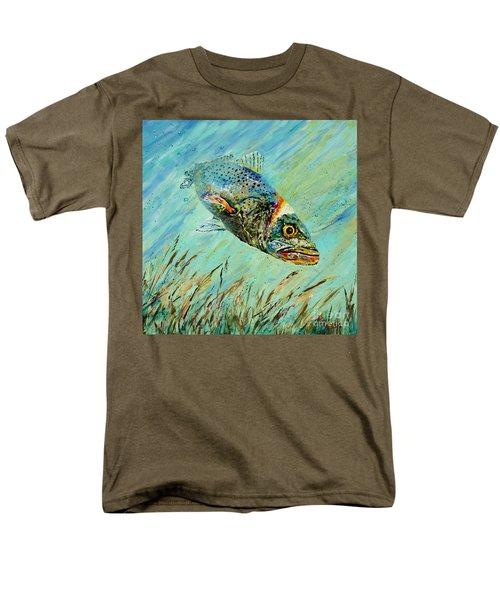 Louisiana Speckled Men's T-Shirt  (Regular Fit)