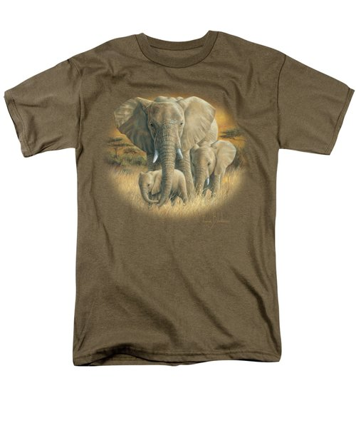 Loving Mother Men's T-Shirt  (Regular Fit) by Lucie Bilodeau