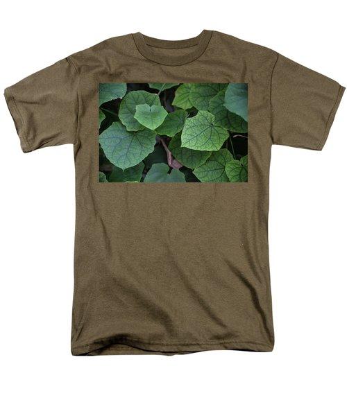 Low Key Green Vines Men's T-Shirt  (Regular Fit) by Jingjits Photography
