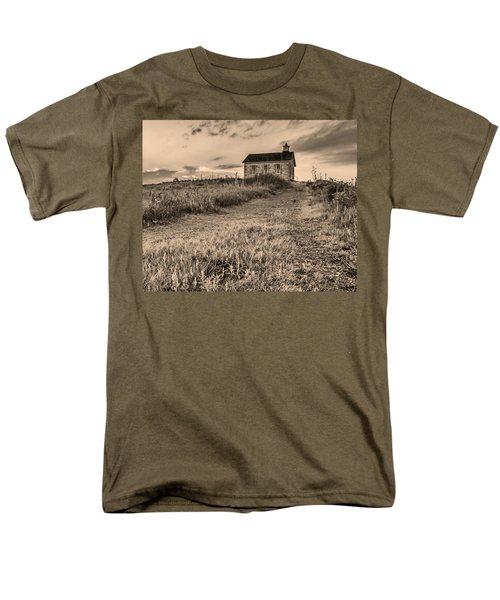 Lower Fox Creek School Men's T-Shirt  (Regular Fit) by Don Spenner