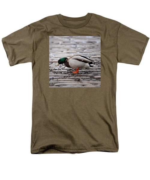 Men's T-Shirt  (Regular Fit) featuring the photograph Lunch Time by Jeremy Lavender Photography
