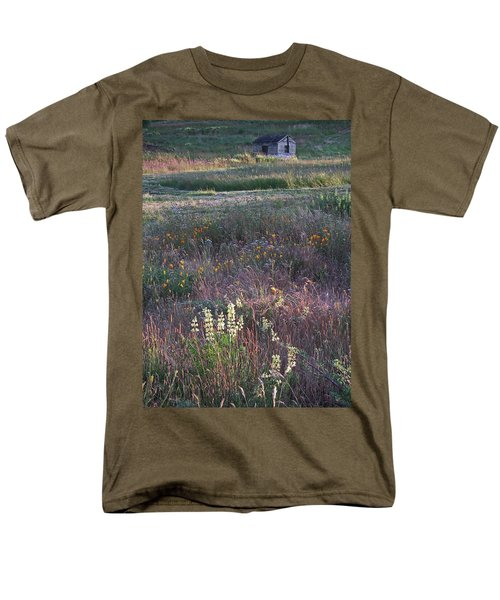 Lupine Men's T-Shirt  (Regular Fit) by Laurie Stewart
