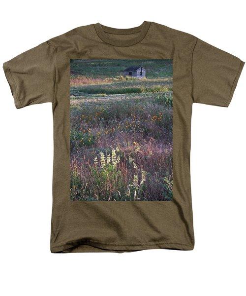 Lupine Men's T-Shirt  (Regular Fit) by Laurie Stewart