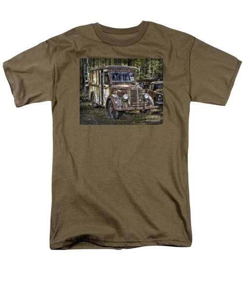 Very Old Mack Truck Men's T-Shirt  (Regular Fit) by Walt Foegelle