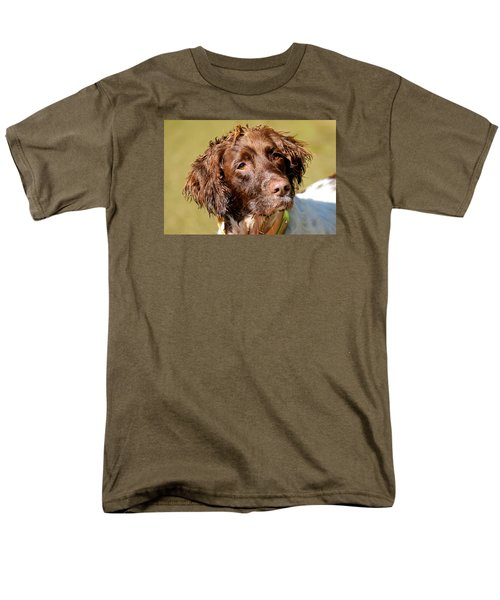 Men's T-Shirt  (Regular Fit) featuring the photograph Maggie Head by Constantine Gregory